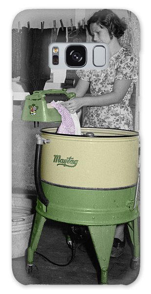 Maytag Woman Galaxy Case