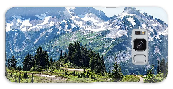 Mazama Ridge And Tatoosh Range Galaxy Case