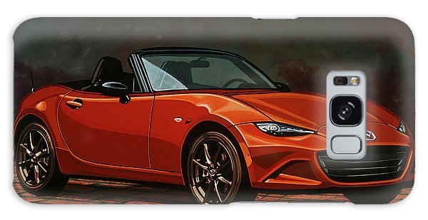 Coupe Galaxy Case - Mazda Mx-5 Miata 2015 Painting by Paul Meijering