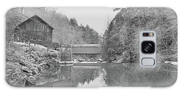 Galaxy Case featuring the photograph Mcconnells Mill In Late March by Digital Photographic Arts