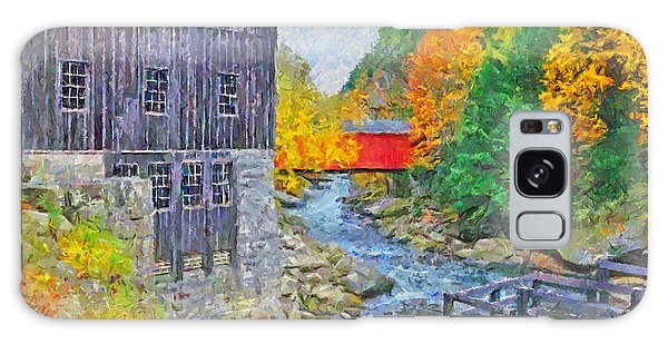 Galaxy Case featuring the digital art Mcconnells Mill State Park  by Digital Photographic Arts