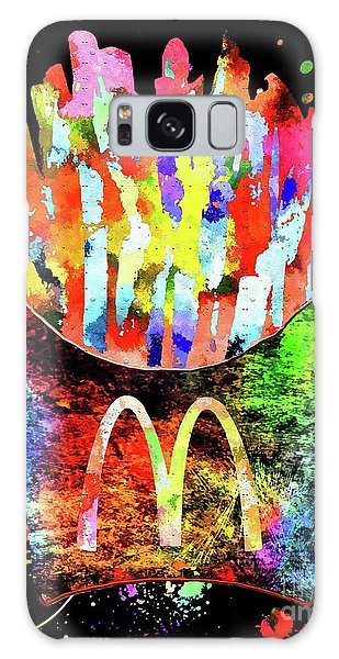 Mcdonald's French Fries Grunge Galaxy Case