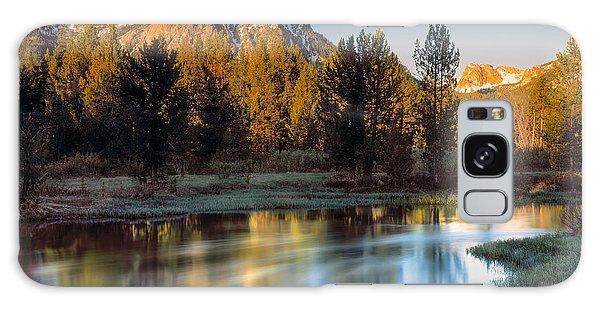 Mcgown Peak Sunrise  Galaxy Case