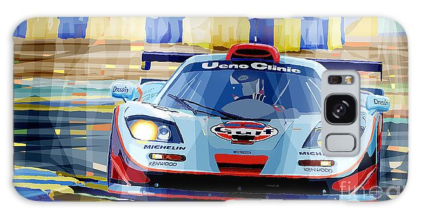 Car Galaxy S8 Case - Mclaren Bmw F1 Gtr Gulf Team Davidoff Le Mans 1997 by Yuriy Shevchuk