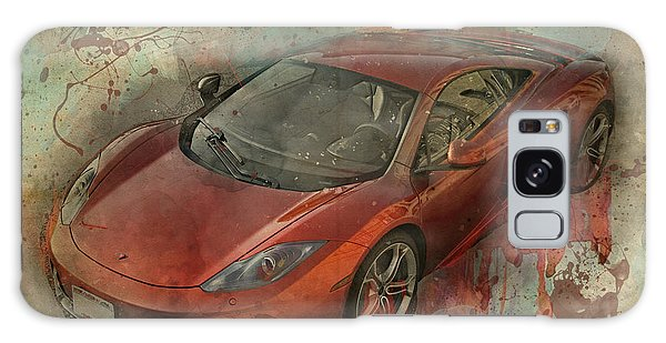 Galaxy Case featuring the photograph Mclaren Graffiti by Joel Witmeyer