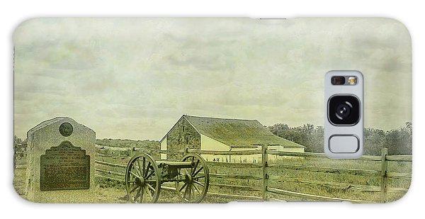 Us Civil War Galaxy Case - Mcpherson Barn And Cannon Gettysburg  by Randy Steele