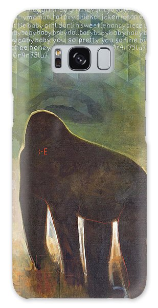 Gorilla Galaxy S8 Case - Me Jane by Sandra Cohen