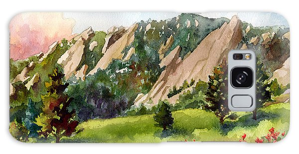 Meadow At Chautauqua Galaxy Case by Anne Gifford
