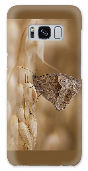 Meadow Brown Roosting Galaxy Case