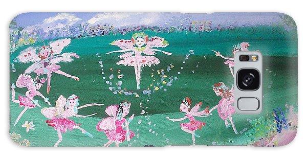 Meadow Fairies Galaxy Case by Judith Desrosiers