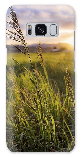 Meadow Light Galaxy Case