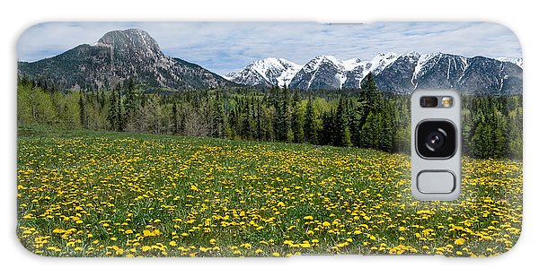 Meadow Of Dandelions In The San Juan Mountains Galaxy Case by Jeff Goulden