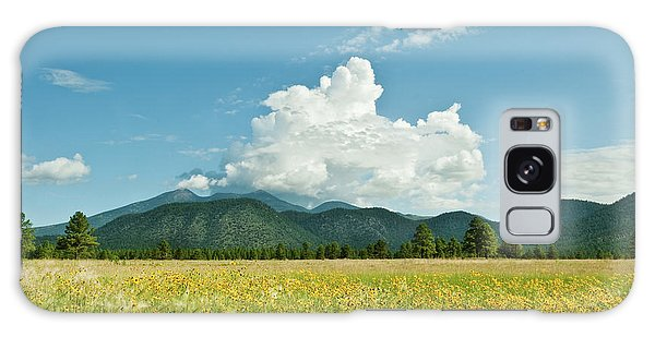 Meadow Of Sunflowers And The San Francisco Peaks Galaxy Case