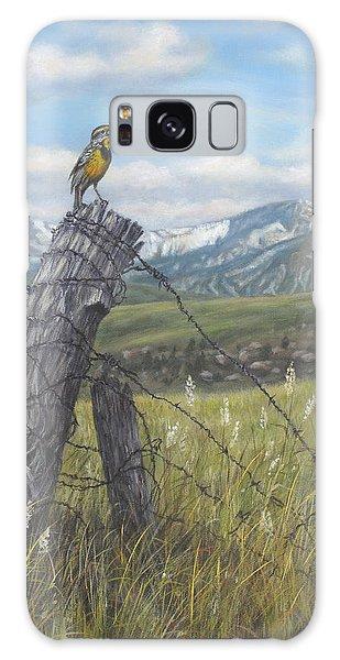 Meadowlark Serenade Galaxy Case