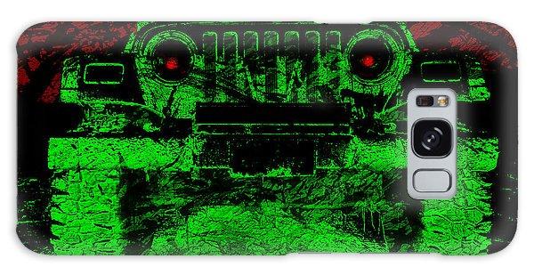 Mean Green Machine Galaxy Case