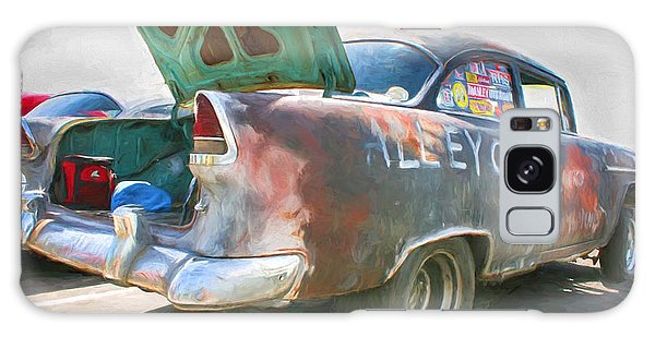 Mean Streets Galaxy Case by Michael Cleere