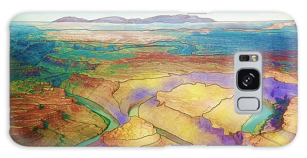 Meander Canyon Galaxy Case