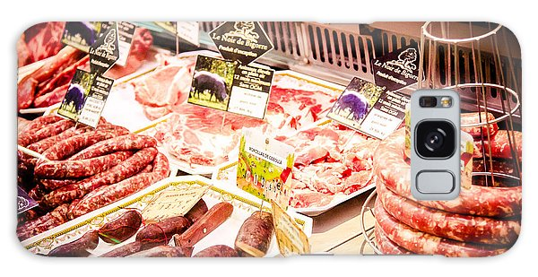 Galaxy Case featuring the photograph Meat Market by Jason Smith