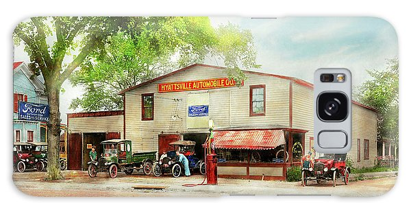 Mechanic - All Cars Finely Tuned 1920 Galaxy Case by Mike Savad
