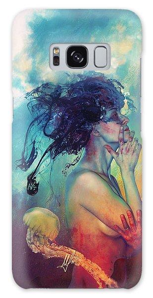 Mythology Galaxy Case - Medea by Mario Sanchez Nevado