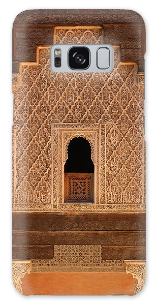 Galaxy Case featuring the photograph Medersa Ben Youssef by Ramona Johnston
