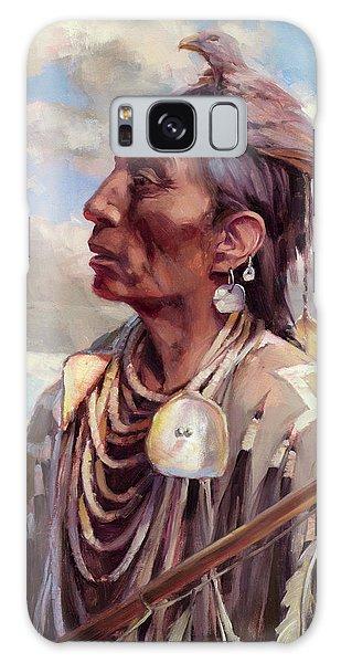 Crow Galaxy S8 Case - Medicine Crow by Steve Henderson