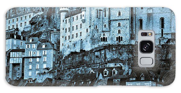Medieval Castle In The Pilgrimage Town Of Rocamadour Galaxy Case