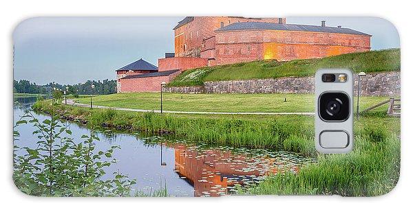 Medieval Castle Galaxy Case by Teemu Tretjakov