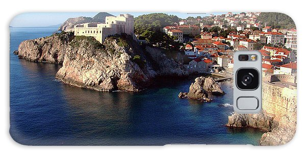 Medieval Fortresses Lovrijenac And Bokar Dubrovnik Galaxy Case