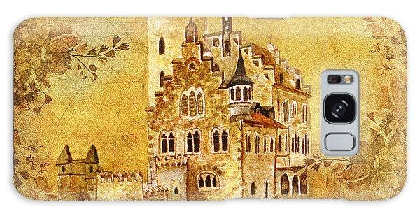 Medieval Golden Castle Galaxy Case