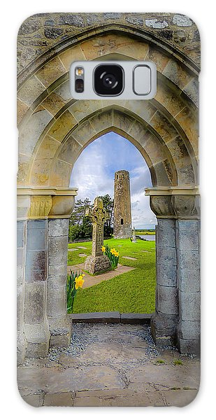 Galaxy Case featuring the photograph Medieval Irish Countryside by James Truett