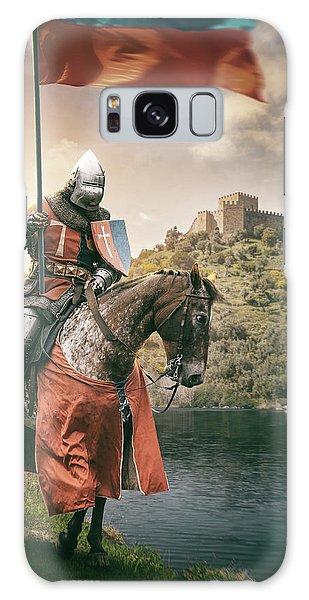 Front Galaxy Case - Medieval Knight 3 by Carlos Caetano