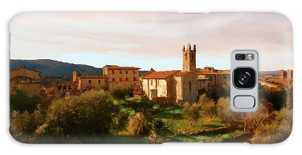 Medieval Tuscany Galaxy Case