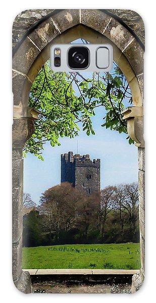 Galaxy Case featuring the photograph Medieval Vista Of Dysert O'dea Castle by James Truett