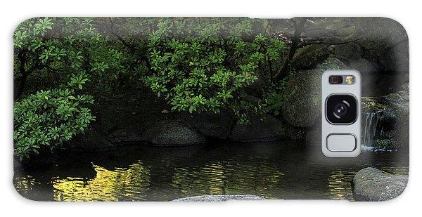 Meditation Pond Galaxy Case
