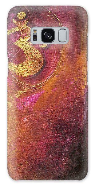 Meditations Galaxy Case by Dina Dargo