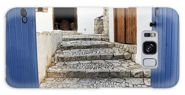 Mediteranean Old House Galaxy Case by Mike Santis