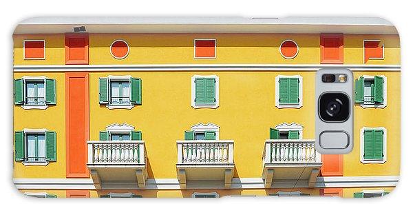 Mediterranean Colours On Building Facade Galaxy Case