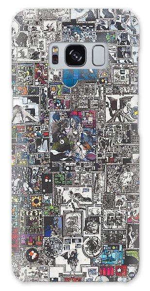 Mythology Galaxy Case - Medusa Maze by Zak Smith