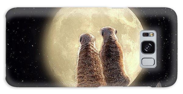 Meerkat Moon Galaxy Case