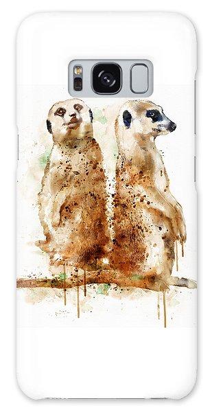 Meerkat Galaxy S8 Case - Meerkats by Marian Voicu