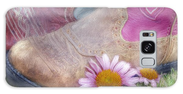 Galaxy Case featuring the photograph Megaboots 2015 by Joan Carroll