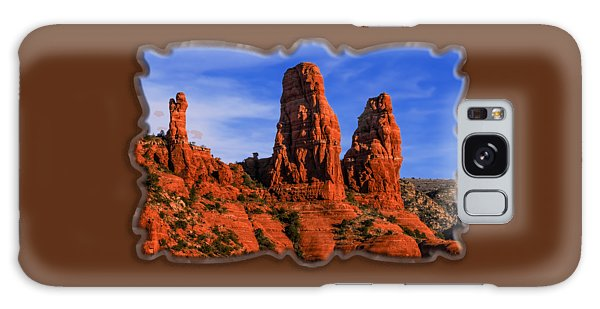 Megalithic Red Rocks Galaxy Case