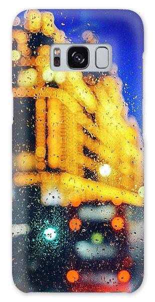 Melancholic London Lights  Galaxy Case