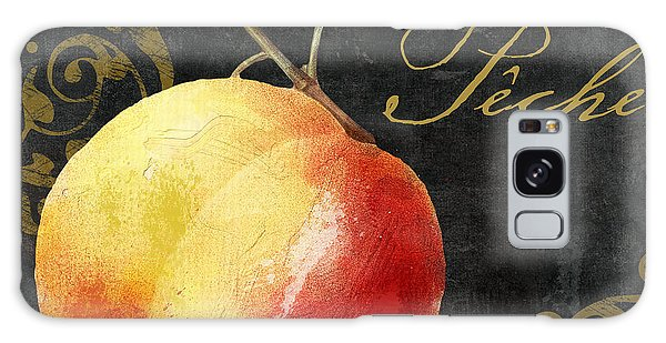 Melange Peach Peche Galaxy Case by Mindy Sommers