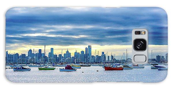 Melbourne Skyline Galaxy Case