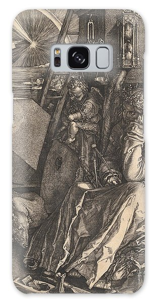 Engraving Galaxy Case - Melencolia I, 1514  by Albrecht Durer