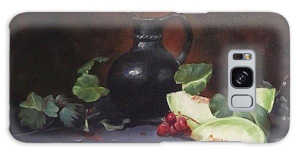 Melon And Vase Galaxy Case