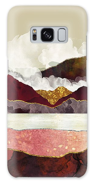 Landscape Galaxy Case - Melon Mountains by Katherine Smit