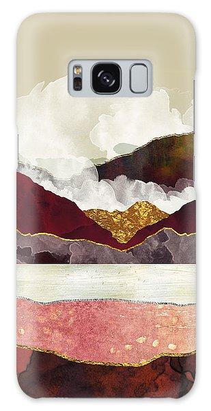 Landscapes Galaxy Case - Melon Mountains by Katherine Smit